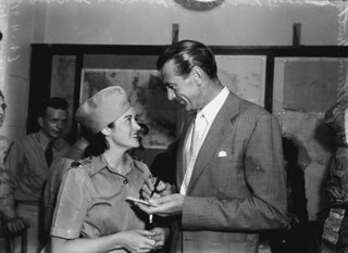Asking for Gary Cooper's autograph