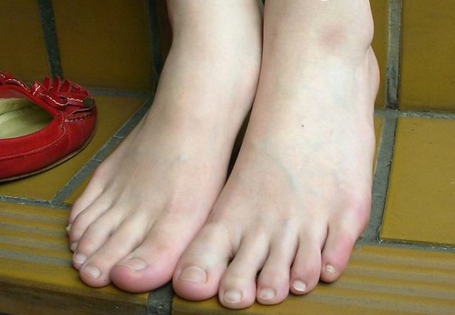 "beautiful feet photo 4x4 в""– 7904"