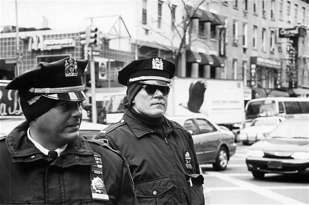NYC Cops at Protest 2, February 2003