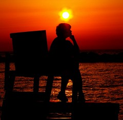 The Sunset Thinker!