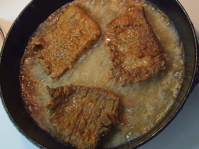... cream gravy quick and easy pan fried flank steak fried round steak