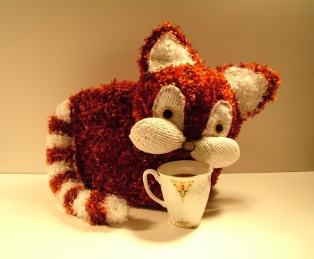 How to knit a 'proper' English tea cosy! : Shape on