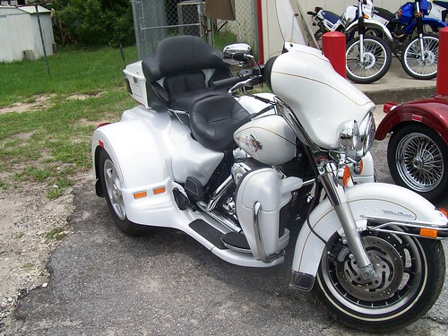 2007 Lehman Trike Harley Davidson Ultra Classic Motorcycle