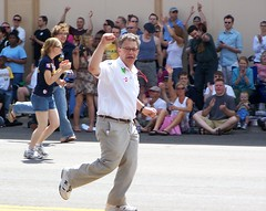 Al Franken 2008 Minneapolis Pride Parade