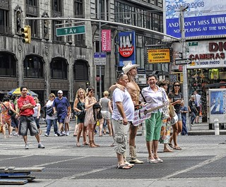Naked Cowboy in NYC