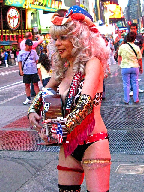 Naked cowgirl of times square pic 533