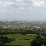 027-20080622NX_Graig Llanishen-Panorama 2B of Cardiff from Southern Slopes - Glamorgan - South Wales