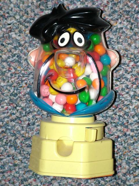 Fred Flintstone gumball machine, 1968   Flickr - Photo ...