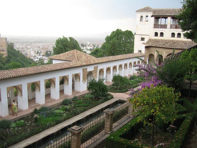 Granada jardines del generalife explore martti - Jardines granada ...