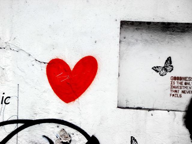 corazón callejero