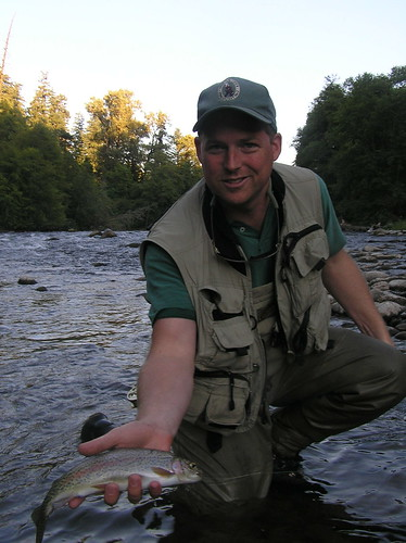 Water less fished north fork of the middle fork for Willamette river fishing report