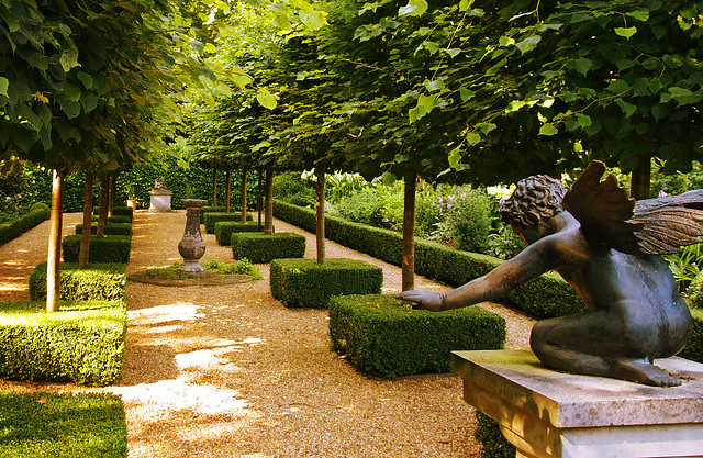 The French Garden at Kimpton House in Hampshire