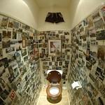 Unique Toilet in Fisheye - Bohemia, Czech Republic