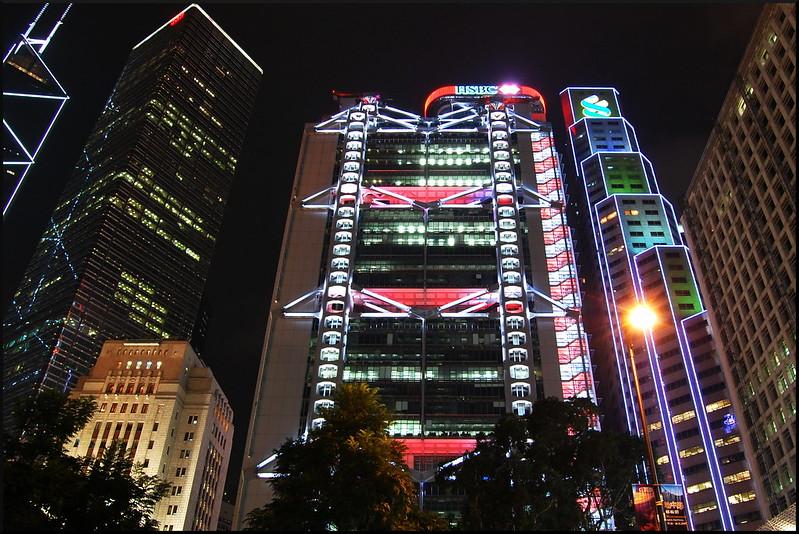 The Hong Kong and Shanghai Bank Building at Central