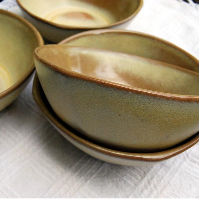 Frankoma Pottery bowls