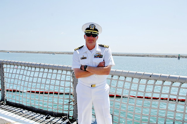 Commanding Officer of USS McClusky