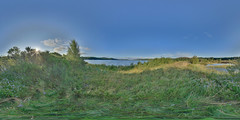 LochInsh: Lagoon Loch Insh Scotland Equirectangular
