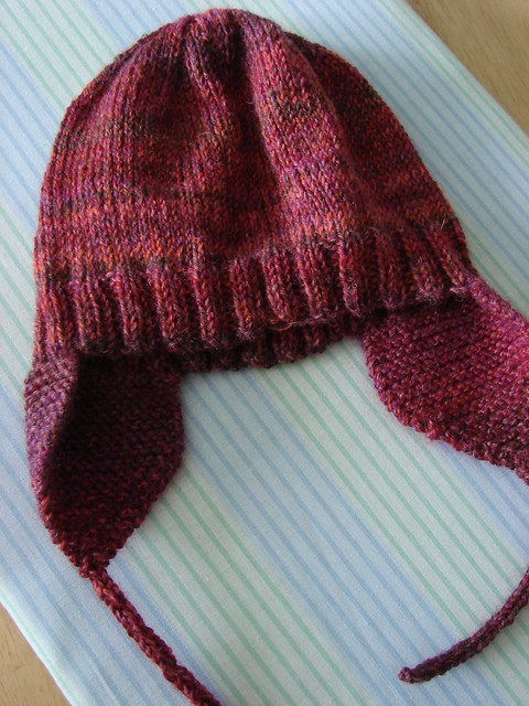 Knitted earflap hat pattern free patterns for Fave crafts knitting patterns