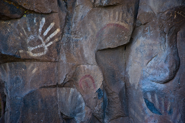 Ancient rock paintings in the yakima valley flickr for Landscaping rocks yakima