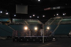 Boxing ring, MGM Grand