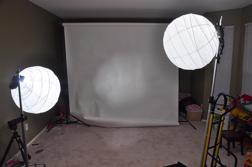 Setup for Maternity Portraits