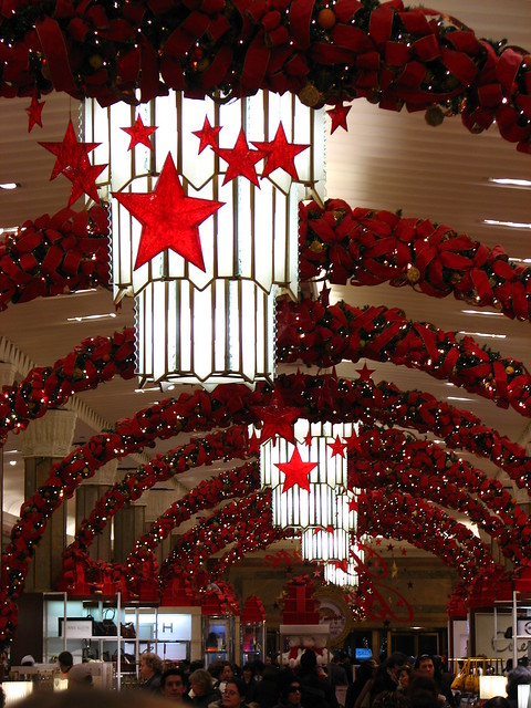 Macy 39 s christmas decorations flickr photo sharing for Decoration new york