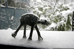 imperial walker endures day 8 on ice planet hoth    …