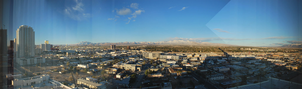 View from the Stratosphere Hotel & Casino in Las Vegas