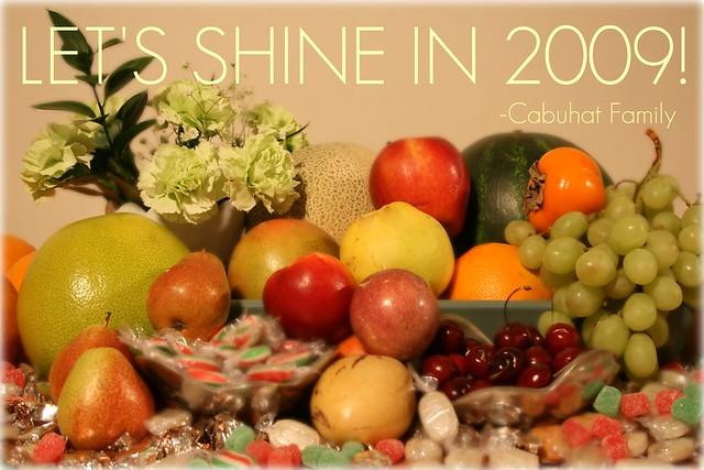 LET'S SHINE IN 2009!