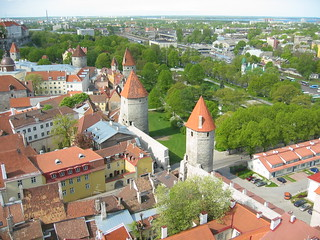 View from Oleviste kirik