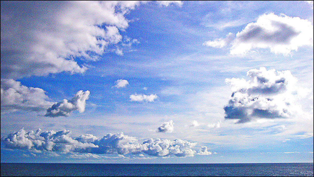 Clouds at Sea