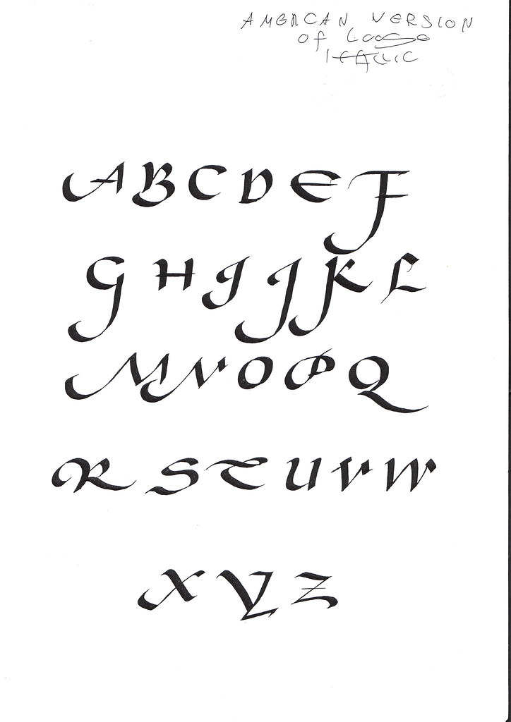 05/13/2018 Introduction to Calligraphy: The Pointed Pen, Studio ...