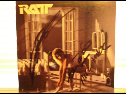 1985 - Ratt Invasion Of Your Privacy (Autographed by Stephen Pearcy)