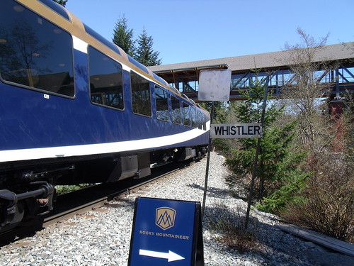 Rocky Mountaineer Vancouver-Whistler