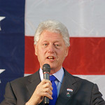Bill Clinton in  Wilkes Barre