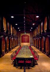 Barrel room at Merryvale