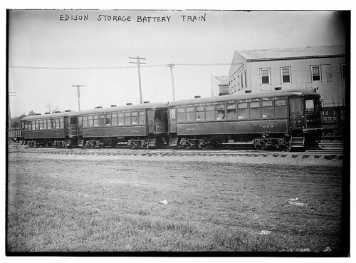Edison Storage Battery Train (LOC)