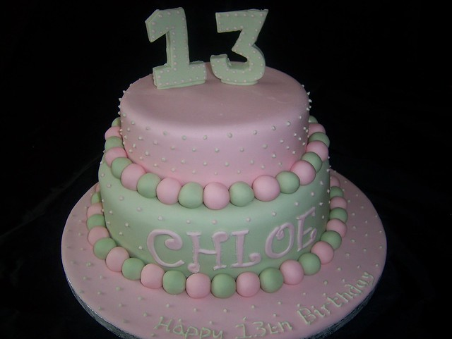 13th birthday cake pictures