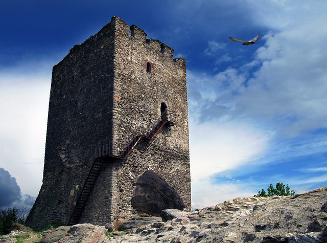 Uros Petrovic - Vrsac Tower, Place of Medieval Legends