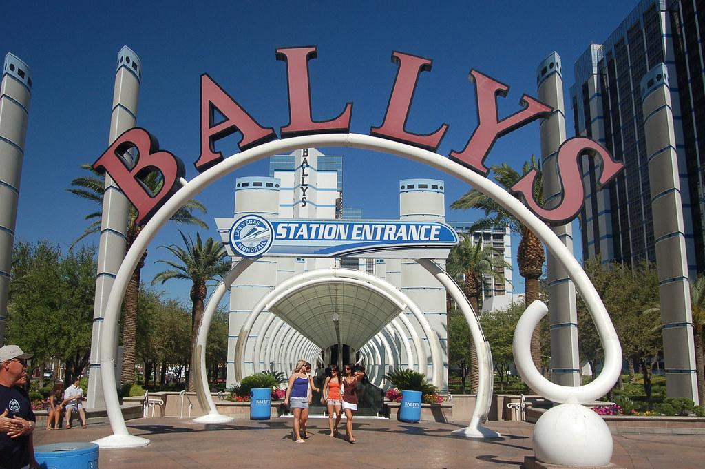 Ballys/Monorail Station Entrance