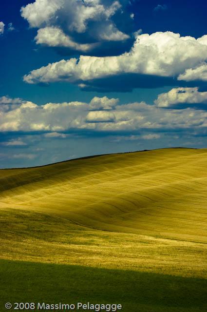 Luglio in Toscana  Ombre e luci