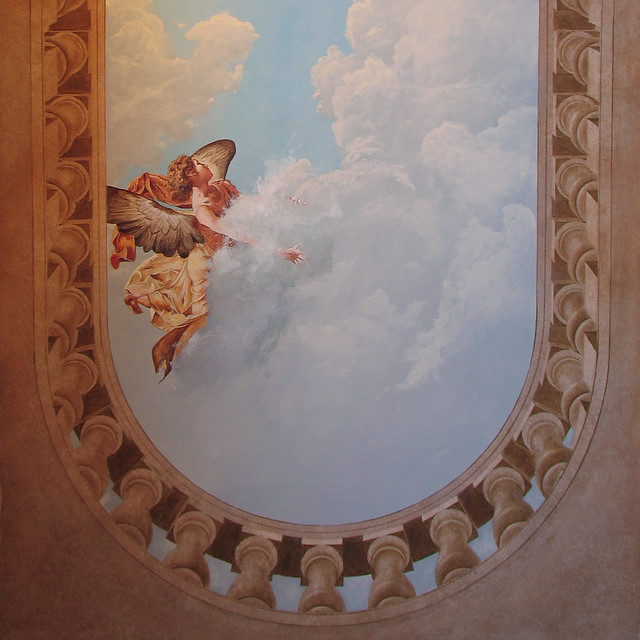 ceilings with mural art - photo #16