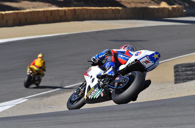 AMA Superbike @ Mazda Laguna-Seca Raceway #1 Ben Spies