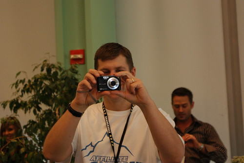 Shawn Collins Takes a Picture with His Casio Exilim EX-Z1200