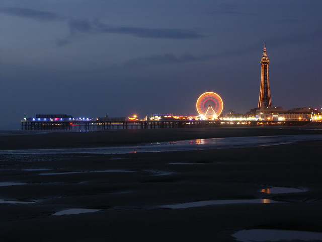 Blackpool Tower & Big Wheel Illuminations