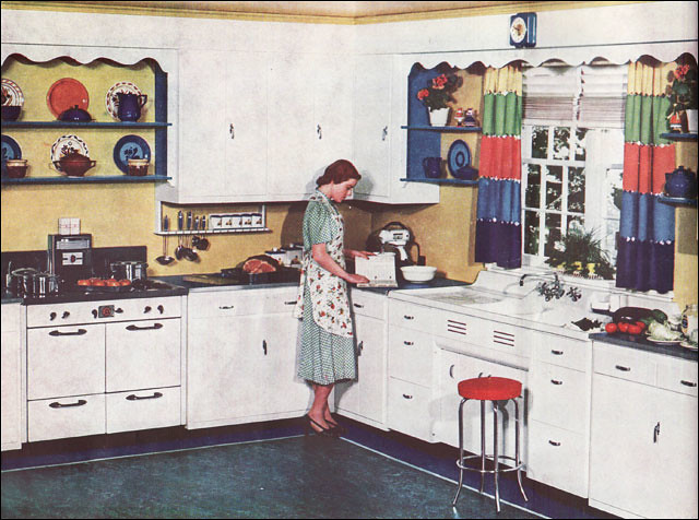 retro kitchen islands 1920 s 1930 s kitchens a gallery on flickr 1938
