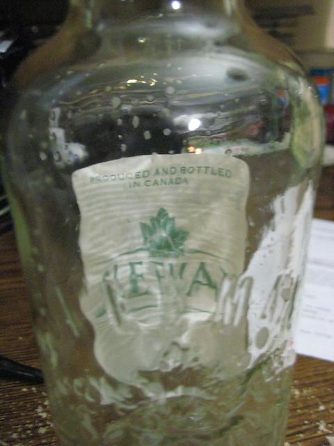 Sleeman IPA label