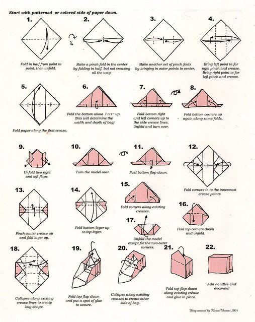 How To Make Origami Crane Envelope