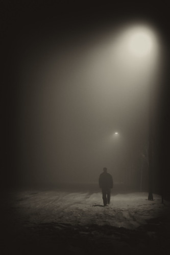 winter light shadow portrait bw snow walking foggy colby fav10