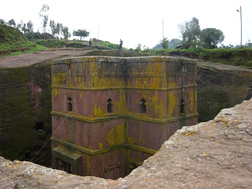 Lalibela, Ethiopia - Bet Giorgis, The church of St George